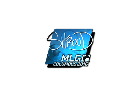 Buy Sticker | shroud (Foil) | MLG Columbus 2016