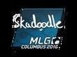 Sticker Skadoodle | MLG Columbus 2016