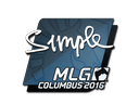Sticker | s1mple | MLG Columbus 2016