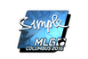 Sticker | s1mple (Foil) | MLG Columbus 2016