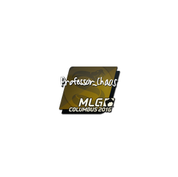 Sticker | Professor_Chaos | MLG Columbus 2016