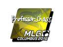Sticker | Professor_Chaos (Foil) | MLG Columbus 2016