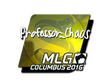 Sticker Professor_Chaos (Foil) | MLG Columbus 2016
