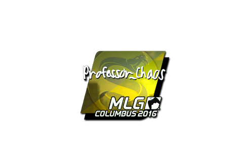 Sticker | Professor_Chaos (Foil) | MLG Columbus 2016 Prices