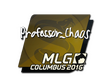 Sticker Professor_Chaos | MLG Columbus 2016