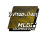 Skin Sticker | Professor_Chaos | MLG Columbus 2016