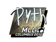 Sticker pyth (Foil) | MLG Columbus 2016