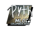 Sticker | pyth (Foil) | MLG Columbus 2016