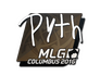 Skin Sticker | pyth | MLG Columbus 2016
