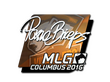 Sticker pashaBiceps (Foil) | MLG Columbus 2016