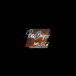 Sticker | pashaBiceps | MLG Columbus 2016