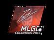 Sticker Ex6TenZ (Foil) | MLG Columbus 2016