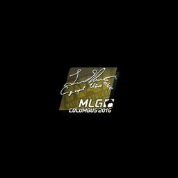 free csgo skin Sticker | Edward | MLG Columbus 2016
