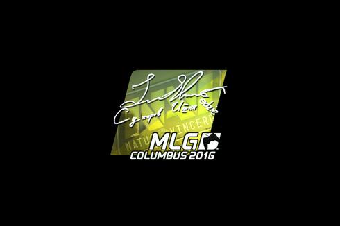Sticker | Edward (Foil) | MLG Columbus 2016 Prices