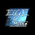 Sticker   EliGE <br>(Foil)   MLG Columbus 2016