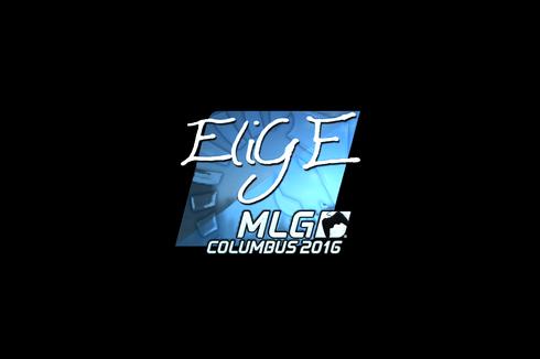 Sticker | EliGE (Foil) | MLG Columbus 2016 Prices