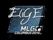 Sticker EliGE | MLG Columbus 2016