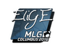 Skin Sticker | EliGE | MLG Columbus 2016