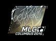 Sticker GeT_RiGhT (Foil) | MLG Columbus 2016