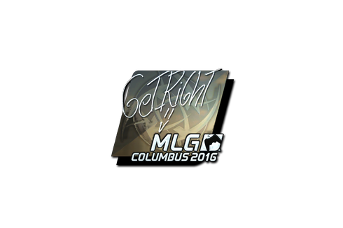 Sticker | GeT_RiGhT (Foil) | MLG Columbus 2016 Prices