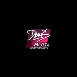 Sticker | denis (Foil) | MLG Columbus 2016