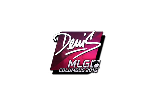 Sticker | denis (Foil) | MLG Columbus 2016 Prices
