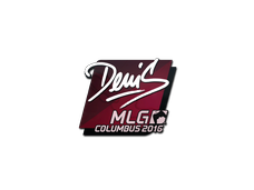 Skin Sticker | denis | MLG Columbus 2016