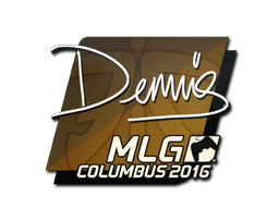 Sticker | dennis | MLG Columbus 2016