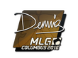 Sticker dennis | MLG Columbus 2016