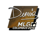 Skin Sticker | dennis | MLG Columbus 2016