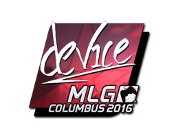Sticker | device (Foil) | MLG Columbus 2016