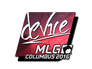 Skin Sticker | device (Foil) | MLG Columbus 2016