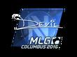 Sticker DEVIL (Foil) | MLG Columbus 2016