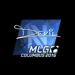 DEVIL (Foil) | MLG Columbus 2016