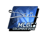 Skin Sticker | DEVIL (Foil) | MLG Columbus 2016