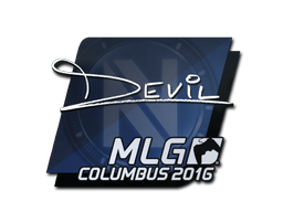 Sticker | DEVIL | MLG Columbus 2016