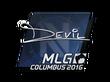 Sticker DEVIL | MLG Columbus 2016