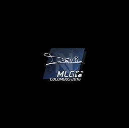 Sticker | DEVIL | MLG Columbus 2016