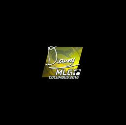 Sticker | DAVEY (Foil) | MLG Columbus 2016
