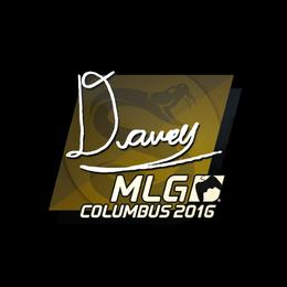 DAVEY   MLG Columbus 2016