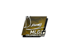 Skin Sticker | DAVEY | MLG Columbus 2016