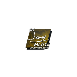 Sticker | DAVEY | MLG Columbus 2016