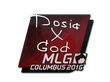Sticker Dosia | MLG Columbus 2016