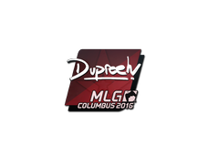 Skin Sticker | dupreeh | MLG Columbus 2016