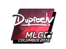 Sticker | dupreeh (Foil) | MLG Columbus 2016
