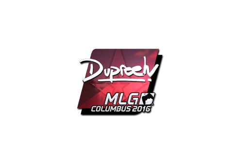 Sticker | dupreeh (Foil) | MLG Columbus 2016 Prices