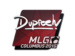 Sticker | dupreeh | MLG Columbus 2016