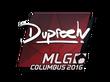 Sticker dupreeh   MLG Columbus 2016