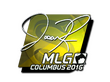 Sticker jasonR (Foil) | MLG Columbus 2016