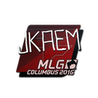 Sticker | jkaem | MLG Columbus 2016